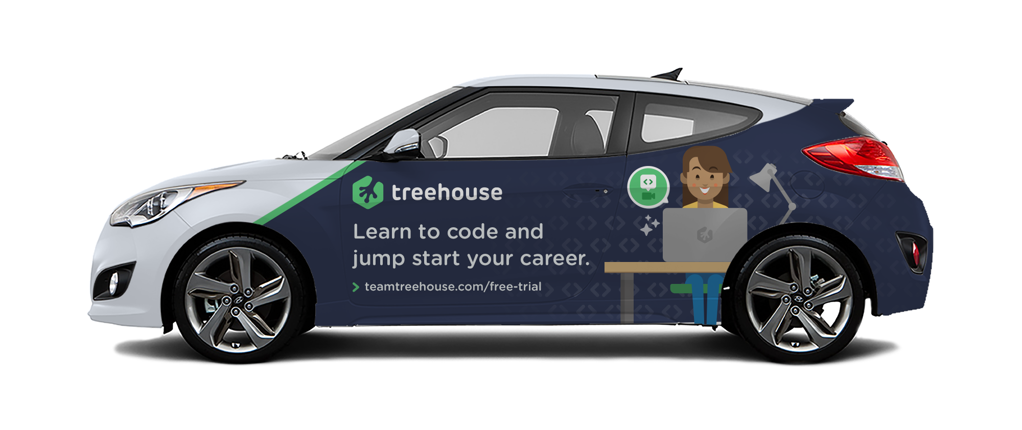 Car Ad for Treehouse